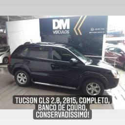 Tucson GLS 2.0, 2015, automática, Completa, Conservadíssima, Oportunidade!