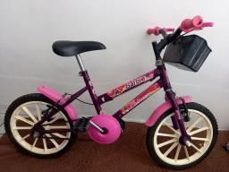Título do anúncio: Bicicleta feminina infantil