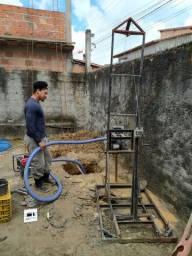 Perfuratriz, máquina de cavar poços
