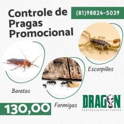 Controle de Pragas promocional 130,00
