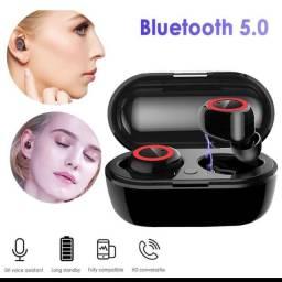 Y50 Tws Fone De Ouvido Sem Fio Bluetooth Fones De Ouvido De Fitness
