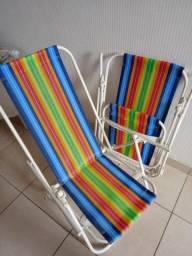 Duas cadeiras de praia Tam G