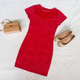 Vestido Vermelho Social