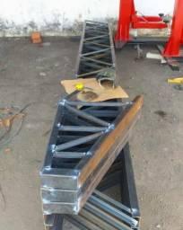Estrutura metálica construção
