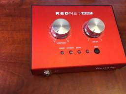 Título do anúncio: Focusrite Rednet Am2 Amplificador Fones Ouvido Estéreo Dante