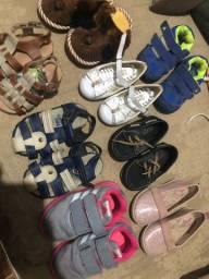 Sapato 15,00 cada ou 3 por 30,00