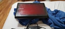 Notebook Samsung Teclado com as teclas QUEBRADOS E BATERIA VICIADA