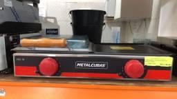 Chapa elétrica c/prensa