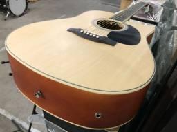 GDC-1 CEQ NS Violão Giannini elétrico com afinador braço de guitarra