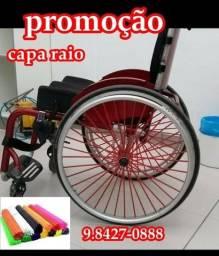capa para cadeira de roda