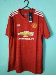 Camisa do Manchester United Vermelha Masculina 2020/21