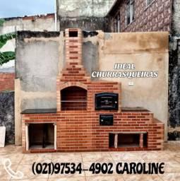Ideal Churrasqueiras e telhado Colonial / 028