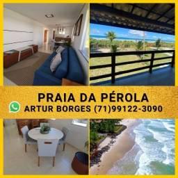 Oportunidade em Ilhéus - 2/4 68m², Cond Praia da Pérola( 60x Sem Juros) Maravilhoso!