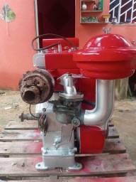 Vende se motor estacionario 10hp 750reas  funcionado. *