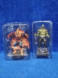 Coleção de miniaturas eaglemoss marvel figurines