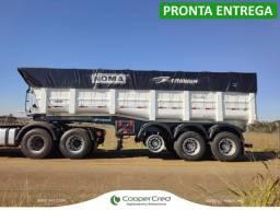 Carreta LS Basculante Noma 2021 0km 30m³ Pronta Entrega sem pneus 3 eixos