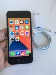 iPhone SE 16gb preto BIOMETRIA OK!