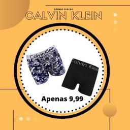 Cuecas Calvin Klein, preço promocional.