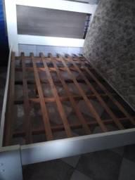Título do anúncio: Vendo cama de casal com colchão