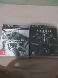 Título do anúncio: Jogos de PS3 Splinter Cell blacklist e ultimate stealth triple