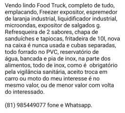 Título do anúncio: Food Truck, Treiler, Lanchonete, lanches.