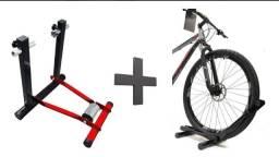 Rolo de treino bike - vermelho
