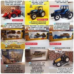 Título do anúncio: Miniaturas de Tratores e máquinas