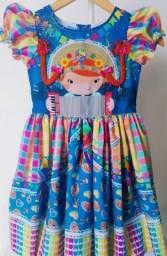 Vestido São João Infantil