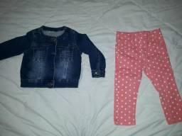Lot de roupa infantil menina tam 2 anos