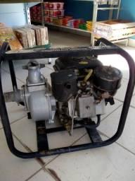 Motobomba auto escovante com motor diesel