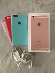 IPHONE 6s PLUS, 32GB, Rose Gold - R$ 1,700,00