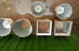 Vendo vasos artesanais de ceramica para plantas