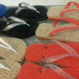 Sandálias capacho