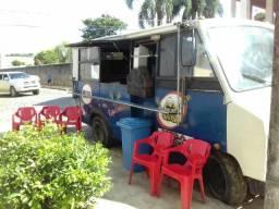 Ônibus de lanches e bebidas