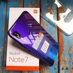 Troco Xiaomi Redmi Note 7 32GB Azul Versão Global em Moto G7 Plus