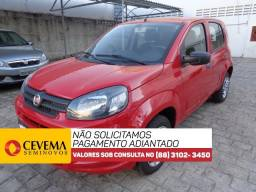 Fiat Uno Drive 1.0 - Vermelho - 2018