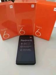 Xiaomi Redmi 6 64G/32G novo na Caixa (LACRADO)