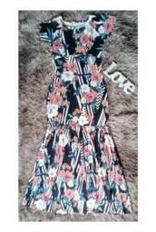 Maravilhoso vestido longo ( G )?V'leny moda plus size?