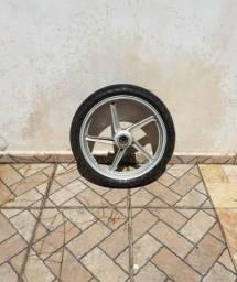 Roda dianteira Twister com pneu