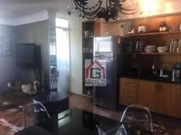 Apartamento com 1 dormitório para alugar, 50 m² por R$ 2.500,00/mês - Casa Branca - Santo