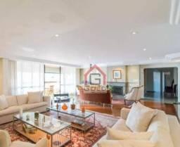 Apartamento com 4 dormitórios para alugar, 390 m² por R$ 7.150,00/mês - Jardim - Santo And