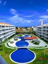 Belo apartamento no Solarium Residence, Porto das Dunas