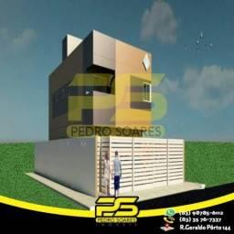 Apartamento com 2 dormitórios à venda, 45 m² por R$ 155.000 - Castelo Branco - João Pessoa