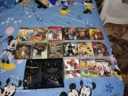 Playstation 3 desbloqueado com HD de 500 gb
