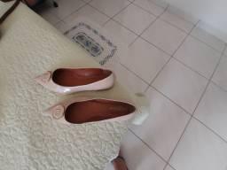 Sapato de couro