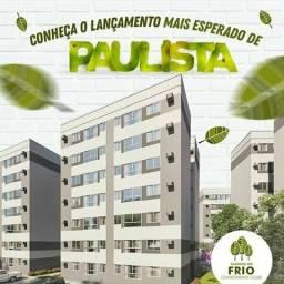 Lindo 2 qts 1 suíte 50m2 no centro de Paulista