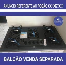 Fogão 5 Bocas Cooktop Brastemp