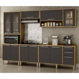 Título do anúncio: Cozinha Completa Paris com balcão cooktop - Lançamento - Entrega Grátis Fortaleza
