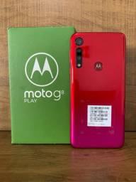 Motorola Moto G8 Play Red 32gb (12x Sem Juros)