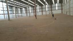 Galpão industrial 6.000 m2 fabril 675 escritórios 12mts pé direito novo batissismo urgente